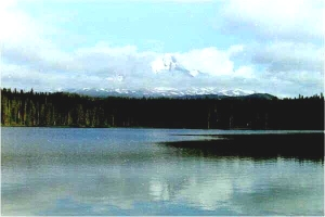 TAKLAKH LAKE, LOOKING TOWARDS MT. ADAMS. (USFS)