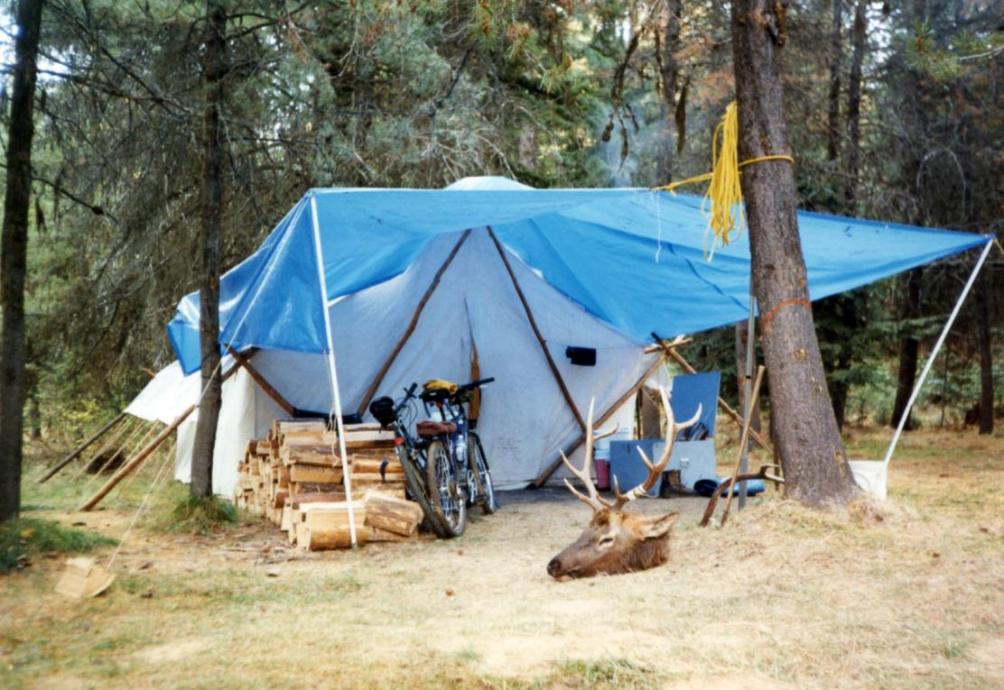 Win A Brand New Rainier Tent For Your Hunting Camp