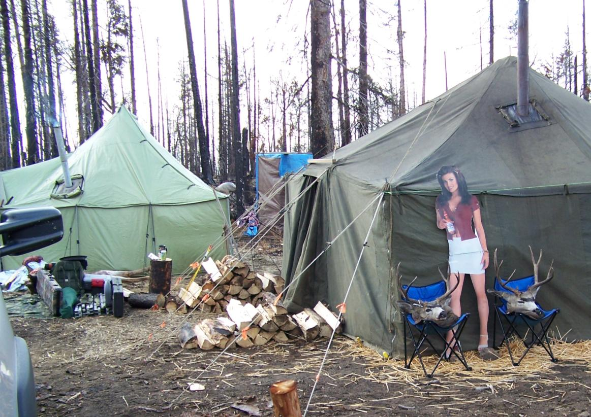OF TENTS AT MARK WELLSu0027 OKANOGAN COUNTY DEER CAMP. (RAINIER TENTS PHOTO CONTEST) & Win A Brand-new Rainier Tent For Your Hunting Camp! | Northwest ...