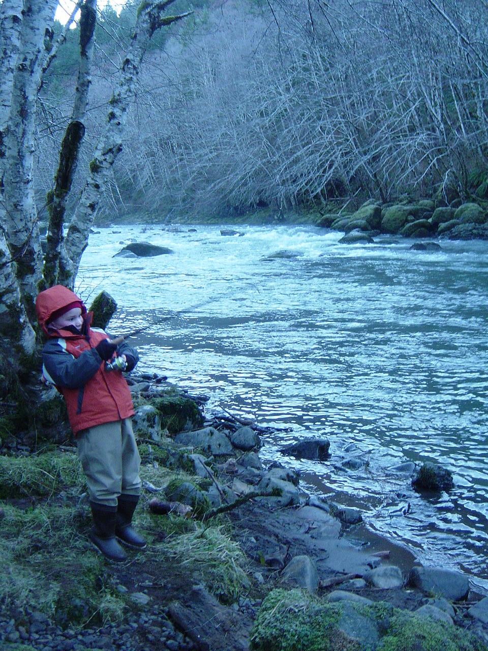 Northwest or steelhead report for Siletz river fishing report
