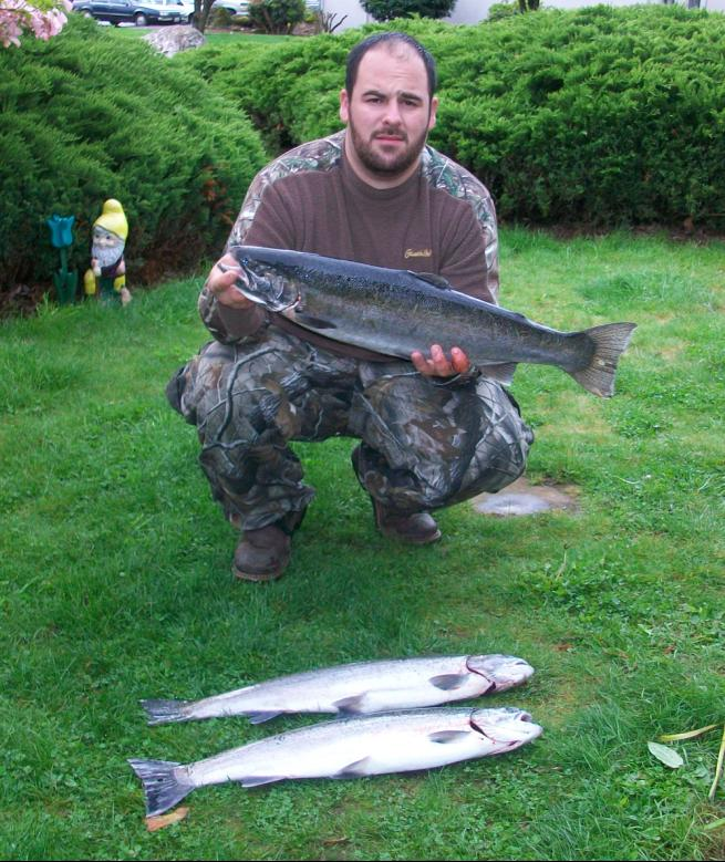 Sw wa fishing report for Washougal river fishing